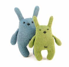 Chester the Bashful Bunny Knitting Pattern Pdf by dangercrafts
