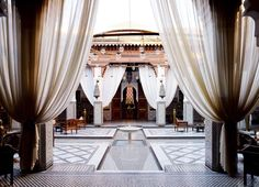 Royal Mansour Hotel in Marrakech.