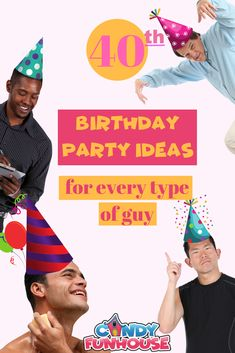 Help your husband, father, brother or friend have the best birthday! Types Of Guys, Best Candy, 40th Birthday Parties, Brother, Husband, Posts, Sweet, Creative, Blog