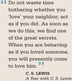Der brillante C.S. Lewis...
