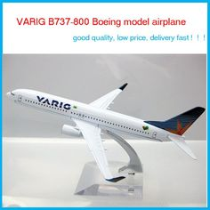 Cheerleading Souvenirs Brazil Airlines VARIG B737-800 Boeing aircraft model airplane model Metal plane model,children's toys