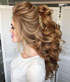 Elstie Long Wedding Hairstyles and Wedding Updos 30 | Deer Pearl Flowers