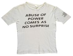 Jenny Holzer (Truisms) t-shirt.