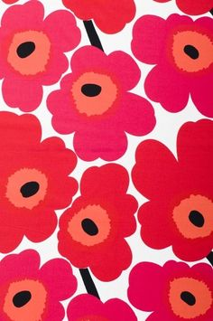 Marimekko : just bought an umbrella in this pattern : love love love