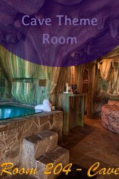 """Everyone who sees our Cave Room for the first time has the same thing to say about it... WOW! It was designed and constructed by a Hollywood prop man. You truly feel like you're inside a cave. While it has more than the comforts of home , TV, it is guaranteed to fulfill your fantasy of """"roughing it"""".  Amenities:  Flat Screen TV  Fridge and Microwave  Coffee Maker  Cable TV  HBO Yucca Valley, Microwave, First Time, Cave, Flat Screen, Coffee Maker, Hotels, Hollywood, Fantasy"""