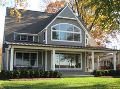 Certainteed Granite Gray Vinyl Siding Home Design Ideas, Pictures, Remodel and Decor House Siding, House Paint Exterior, Exterior Siding, Exterior Colors, Exterior Design, Roof Colors, House Colors, Capes, Certainteed Siding