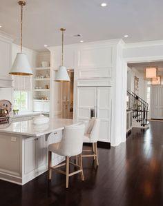 Refrigerator panel door with water dispenser Home Interior, Interior Design Kitchen, Interior Design Living Room, Modern Farmhouse Kitchens, Home Kitchens, Dream Kitchens, Home Decor Kitchen, Kitchen Ideas, Water Dispenser