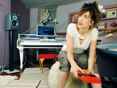 Imogen Heap - musician, composer   Her music both amazes me and weirds me out at the same time. LOVE it.