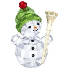 c4678e4d1 Swarovski Snowman with Broomstick, 5393460 | Duty Free Crystal | Duty Free  Crystal Christmas Time