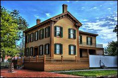 Abraham Lincoln's home - Springfield, Illinois