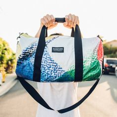 RAREFORM. We repurpose billboards into insanely durable one-of-a-kind bags and accessories - surfbags, backpacks, wallets, duffle bags, totes, and more.