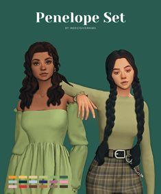 Sims 4 Teen, Sims Four, Sims 4 Mm Cc, Sims 4 Cc Kids Clothing, Sims 4 Mods Clothes, Sims 4 Anime, Sims 4 Black Hair, Pelo Sims, The Sims 4 Packs