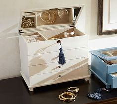 Emily Jewelry Dresser #potterybarn