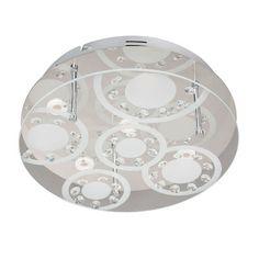 Wofi Lore 5 Light Flush Ceiling Light