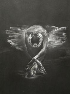 Valery Kosorukov - Odetta. Pastel on paper, Kosorukov Studios