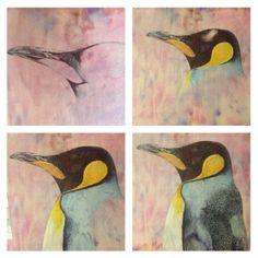 Penguin commission under construction