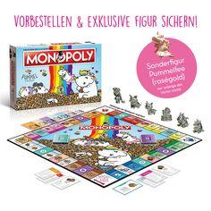 MONOPOLY, das weltberühmte Spiel um Grundbesitz und Immobilien, führt Dich mit dieser Ausgabe durch die Glitzerwelt von Pummeleinhorn, der flauschigsten und schönsten Ecke der magischen Zauberwelten. Die köstlichen Leckereien und...