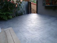 modern stamped concrete payio - Google Search