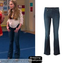 Girl Meets World: Season 2 Episode 19 Maya's Flared Blue Jeans