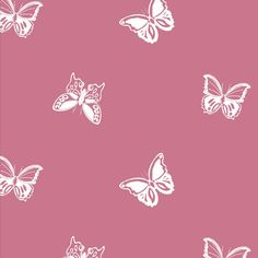 fabric with butterfly