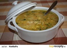 Polévka tety Janky Czech Recipes, Ethnic Recipes, Homemade Perfume, Cheeseburger Chowder, Food And Drink, Meals, Drinks, Soups, Arizona