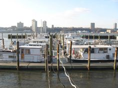 Boats. Another loved scene. 79th Street Boat Basin in You've Got Mail