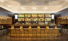 """Must visit hotel in Paris """"Le Drugstore"""" / bar design, bar furniture, luxurious restaurants / #luxuriousrestaurant #restaurantinparis #restaurantdesign / Find more inspiration : http://www.designcontract.eu/category/projects/"""