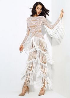 Sansa Fringe Wing Jumpsuit