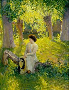 Warm Afternoon by Guy Rose (1867 - 1925) at the Oakland Museum of California