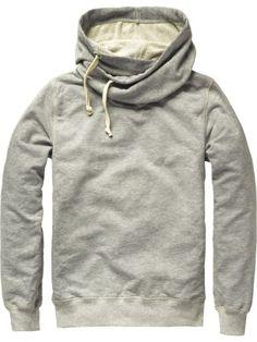Scotch & Soda Home Alone hooded shawl collar sweater € 89,95