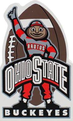 The Cat's Meow Village / Buckeye Football, Scarlet & Gray, Ohio State, Ohio, OH-IO, Go Bucks, Brutus, Ohio State Alumni, TBDBITL