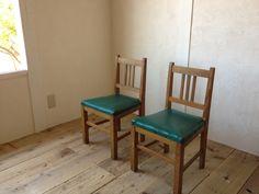 Chair 小学校の古い椅子2脚bレトロスツールクウネルアンティーク インテリア 雑貨 家具 Antique ¥1000yen 〆06月08日