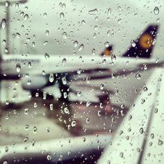 Wet in Munich.