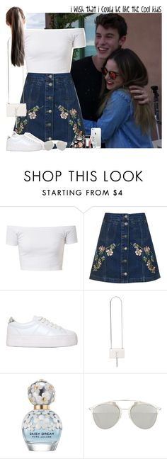 """""""Meeting fans with Shawn"""" by fxrever-isnt-for-everyone ❤ liked on Polyvore featuring Topshop, No Name, Yves Saint Laurent, Marc Jacobs, Christian Dior, Laura Geller and shawnmendes"""