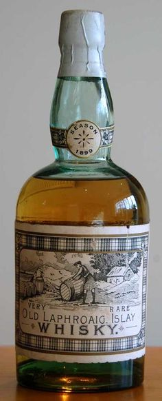 Laphroaig 1899, Mackie & Co. bottling Photo : www.finestandrarest.com
