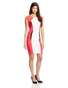 XOXO Women's Colorblocked Bodycon Dress