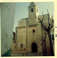 Rota Spain - Cathedral - circa 1968. Rota Spain, Canary Islands, Notre Dame, Madrid, Cathedral, 1960s, Bucket, Memories, Beach