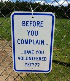 B4 u complain...