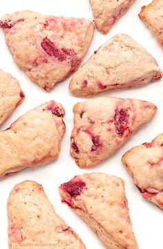 Strawberry Cream Scone Recipe