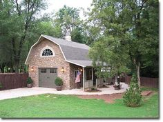 20 x 30 ft. Garage / shop photo (gorgeous barn/shop/garage!! right style for our property, though?)