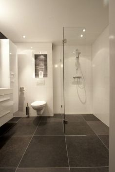 1000 images about badkamer on pinterest met toilets and van - Wc c olour grijze ...