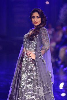 Kareena Kapoor for Manish Malhotra at Lakme Fashion Week 2014