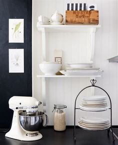 Do not have - I like this look and this exact stand mixer color