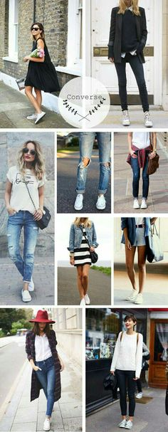 Outfit + Converse