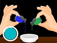 how to make different colours with food colouring