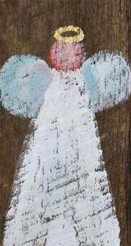Image result for salvaged wood angel