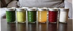 DIY Juice Cleanse -- modeled after BluePrint. Can make all of them as smoothies!