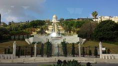 Haifa - Israel Haifa Israel, Statue Of Liberty, Mansions, House Styles, Travel, Statue Of Liberty Facts, Viajes, Manor Houses, Statue Of Libery