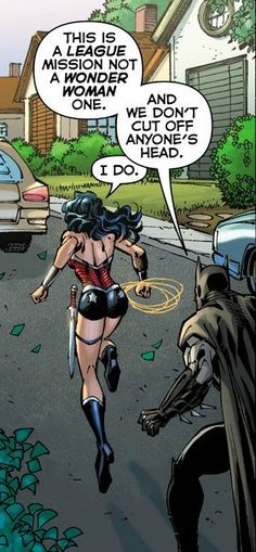 The Difference Between Batman and Wonder Woman