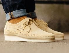 Clarks Originals Weaver 'Maple Suede' post image Clarks Shoes Mens, Men's Clarks, Clarks Wallabee, Desert Boots, Clarks Originals Desert Boot, Asics Tiger, Baskets, Mens Boots Fashion, Leather Sneakers